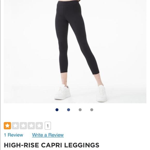 Aeropostale High Rise Capri Leggings